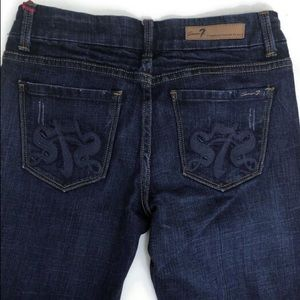 7 SEVEN For All Mankind Bootcut Jeans Size 26